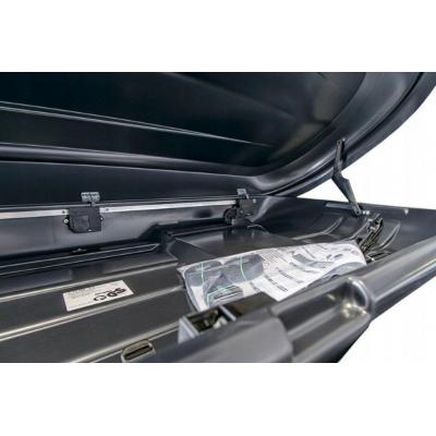 Box dachowy Taurus XTREME II 450 Duo - karbon czarny mat