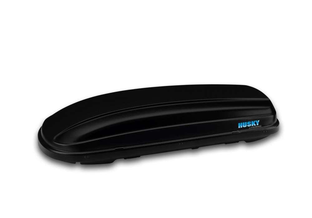 Box dachowy Kamei Husky L - karbon czarny mat