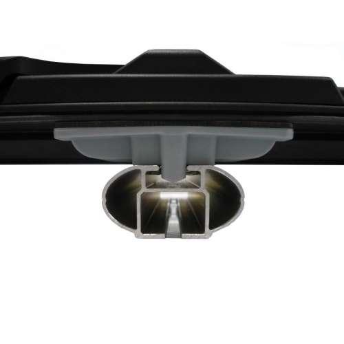 Box dachowy Kamei Oyster 450 - czarny połysk