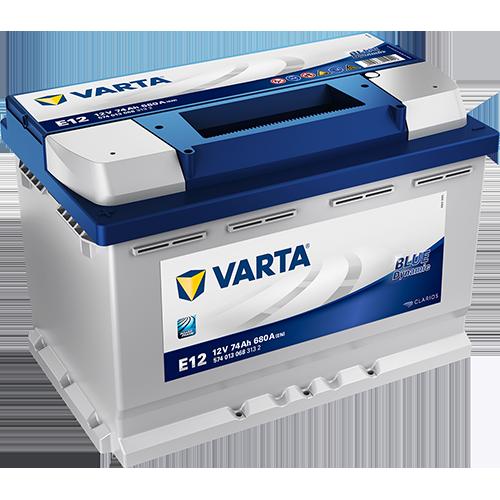 Akumulator Varta Blue Dynamic pojemność 74