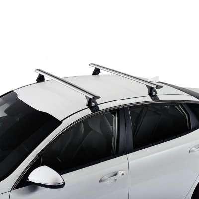Bagaznik dachowy CRUZ - Airo T + zestaw mocujący - srebrny