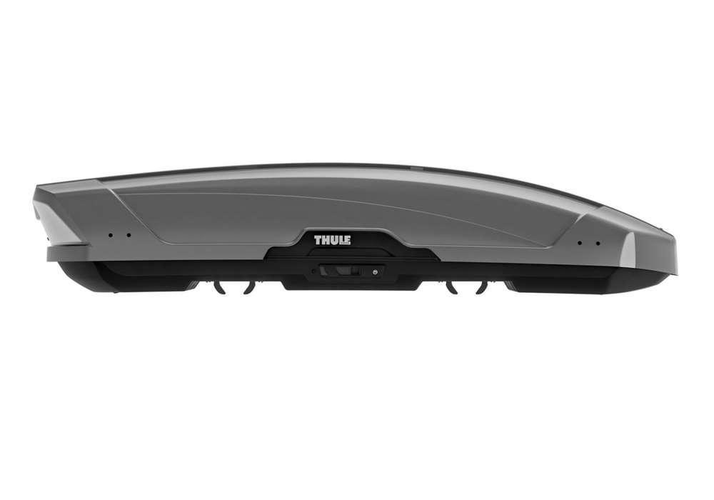 Box dachowy Thule Motion XT M - srebrny tytan połysk