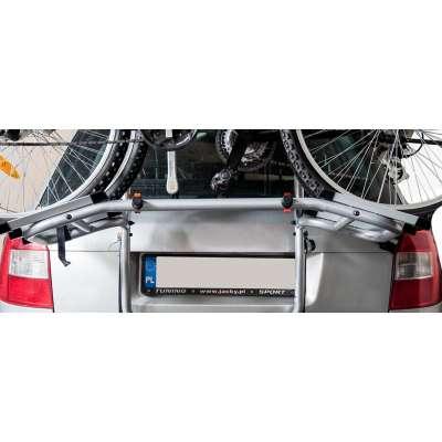 Bagażnik rowerowy na tylną klapę ADVANS - 2 rowery