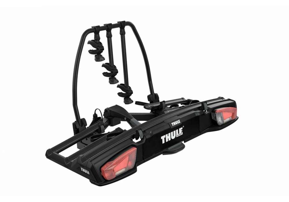 Bagażnik rowerowy na hak Thule VeloSpace XT 3 - 939 czarny + VeloSpace XT Bike Adapter 938 - 4 rowery