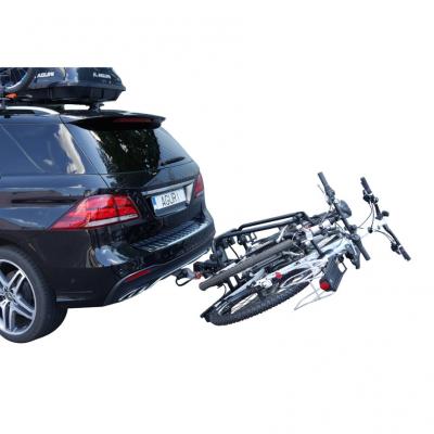 Bagażnik rowerowy na hak Active Bike srebrny - 2 rowery