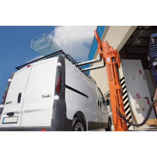 Platforma bagażowa Opel Vivaro II i Renault Trafic III 14- / Fiat Talento i Nissan NV300 L1H1 CRUZ EVO 26-158