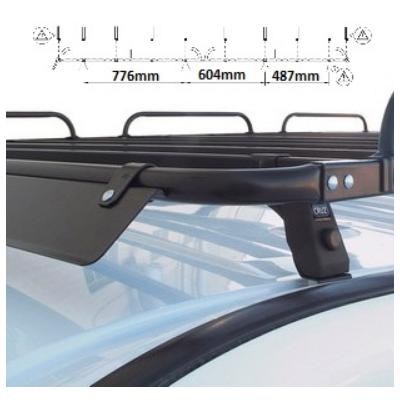 Platforma dachowa Citroen Berlingo III XL/Opel Combo E L2/Peugeot Partner III L2( 18- )Toyota Proace City I L2