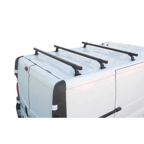 Bagażnik dachowy Renault Trafic II i III ( 01-14,14- )/Opel Vivaro II ( 14-19 ) / Nissan Primastar ( 02-16 ) L1H2 i L2H2