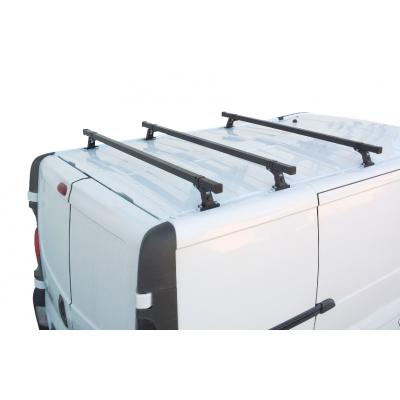 Bagażnik dachowy Renault Trafic II ( 01-14 ) Opel Vivaro I ( 01-14 ) Nissan Primastar ( 01 - 16 ) L1H1 i L2H1