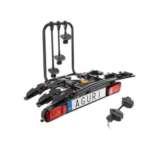 Bagażnik rowerowy na hak Active Bike czarny - 4 rowery
